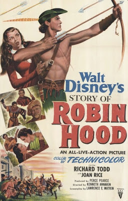 The Disney Films: The Story of Robin Hood and His Merrie Men - 1952